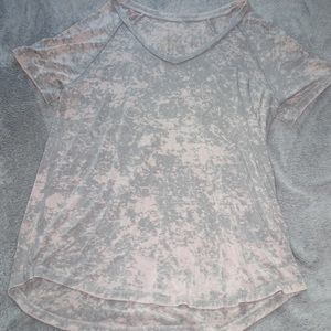 American Eagle Outfitters Tops - Oversized marble tee